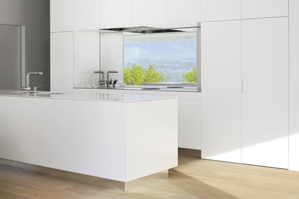 Küche © Frank Lüdi Architekturbüro / Feinmass GmbH