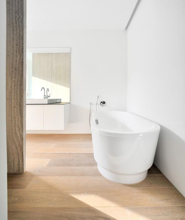 Badezimmer © Frank Lüdi Architekturbüro / Feinmass GmbH