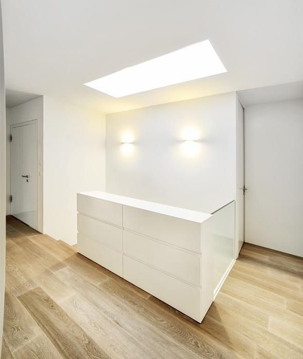 Treppenaufgang © Frank Lüdi Architekturbüro / Feinmass GmbH