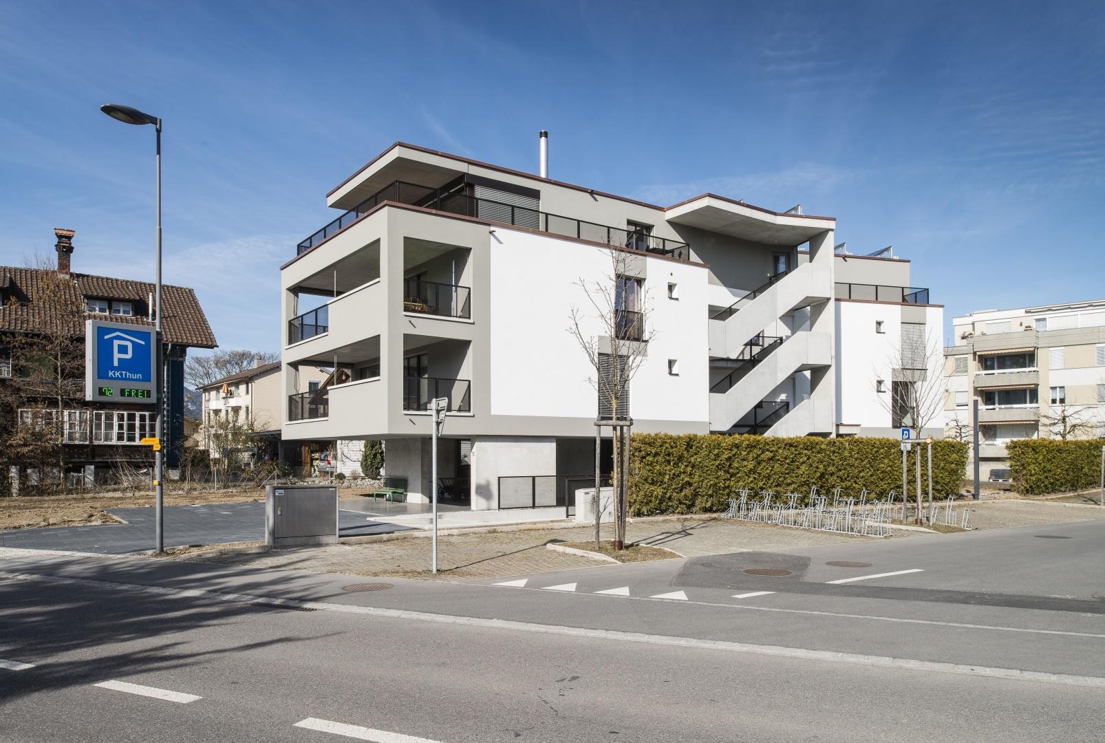 Neubau mehrfamilienhaus thun schweizer baudokumentation for Mehrfamilienhaus neubau