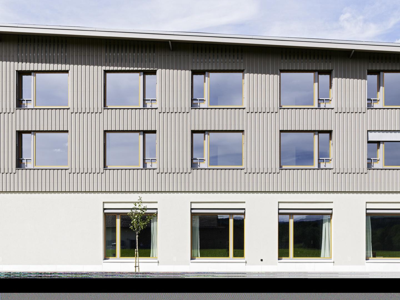 Detail Fassade Süd © Georg Aerni