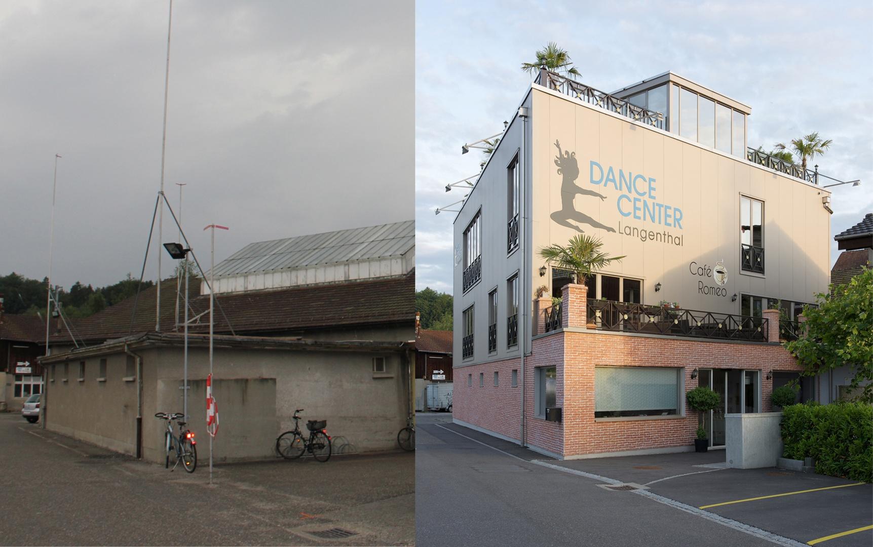 Vorher Nachher Vergleich © Reto Meier, Kirchberg