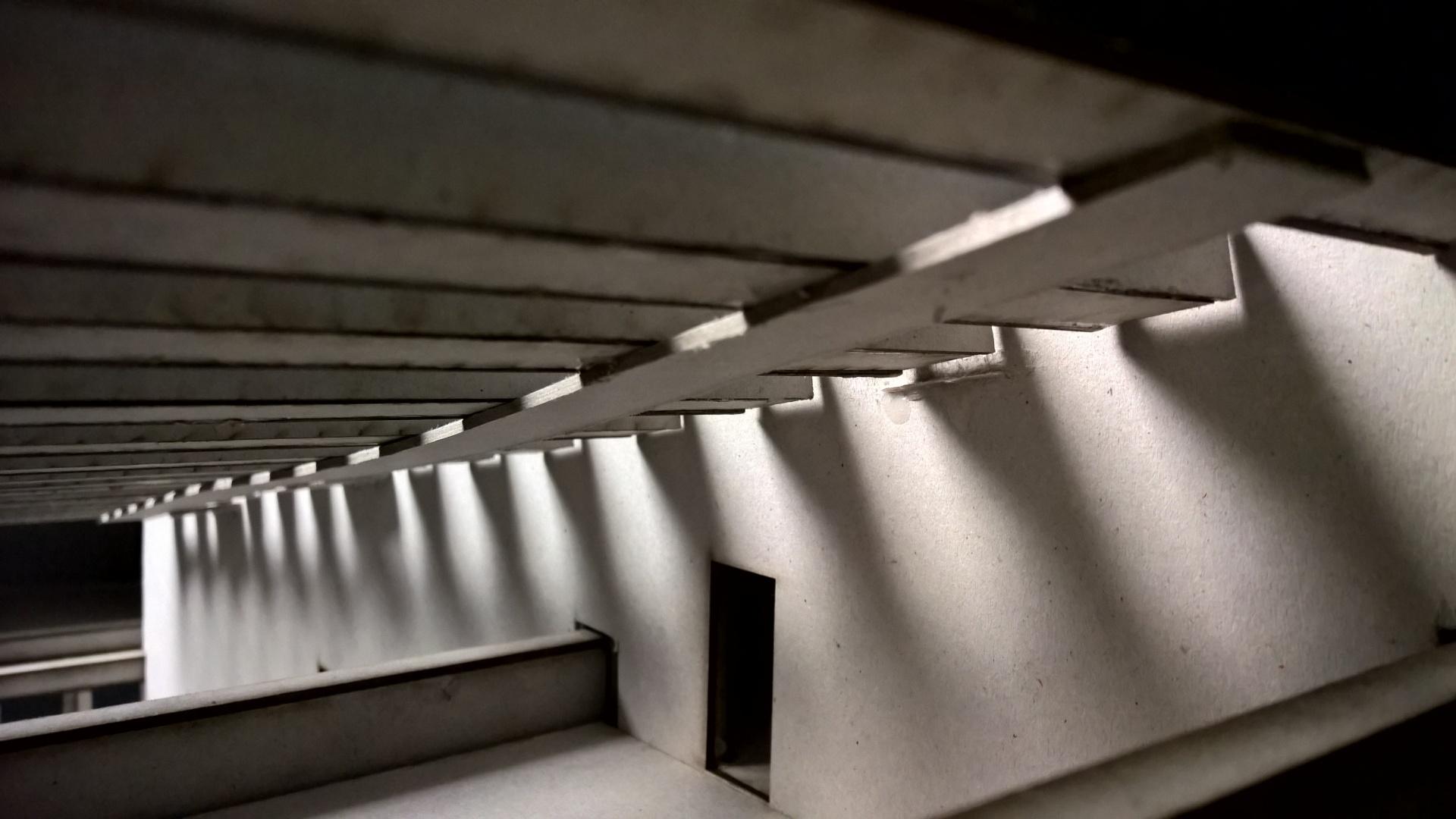 Blick der obersten Plattform hinunter © Ehrle / Schuld