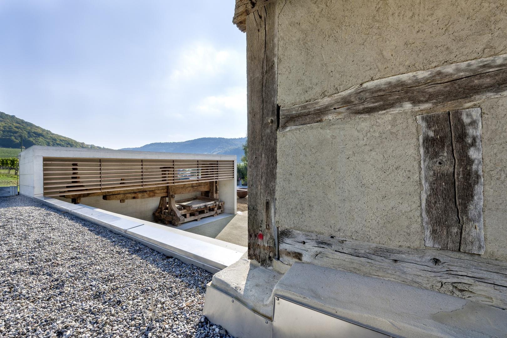 Accolage d'abri © Peter Hebeisen, Zürich