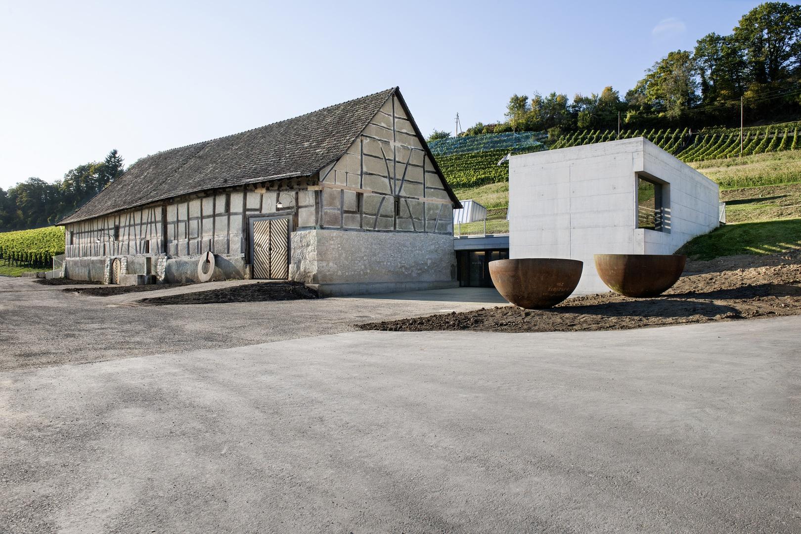 Vue sud-est © Peter Hebeisen, Zürich
