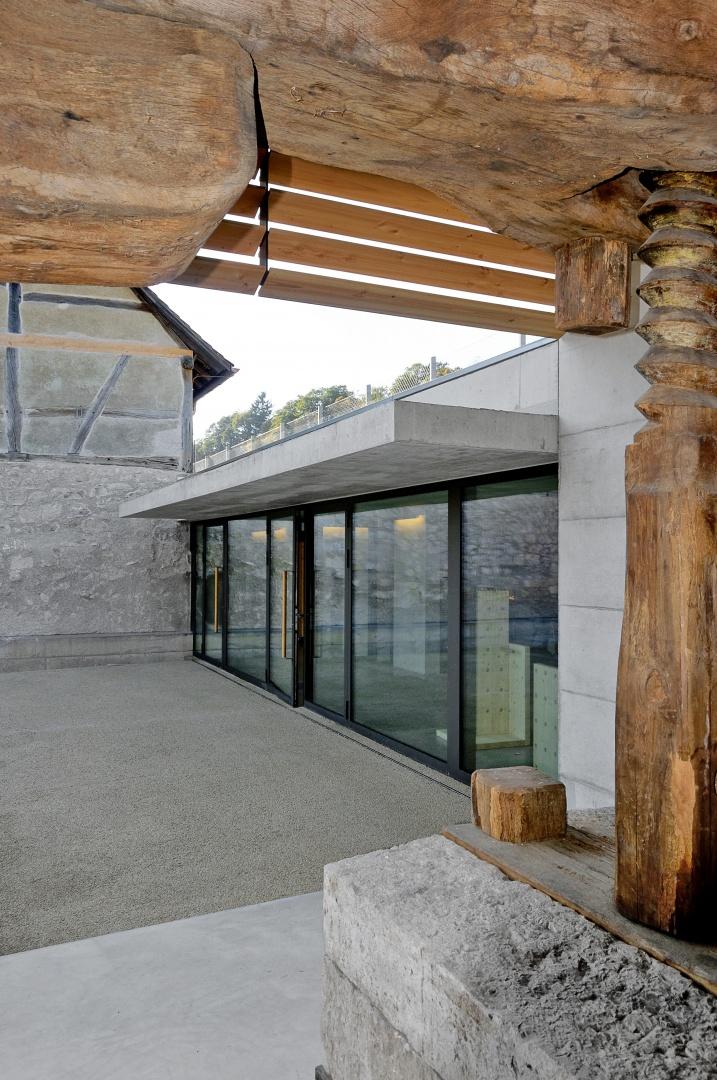 Entrée dans le nouveau restaurant © Christoph Kretz, archikomm, Zürich
