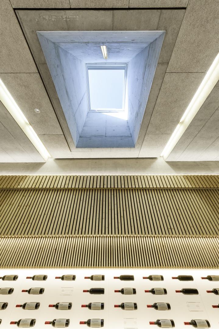 Oberlicht des neuen Eventraumes © Peter Hebeisen, Zürich