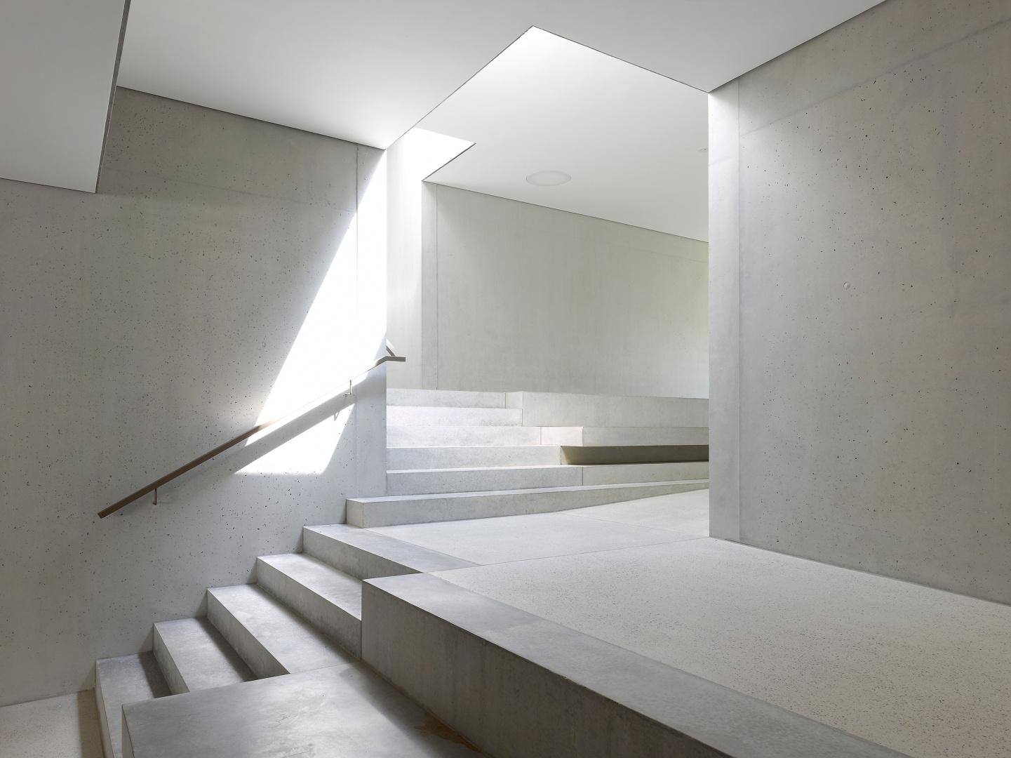 escalier central © Thomas Jantscher