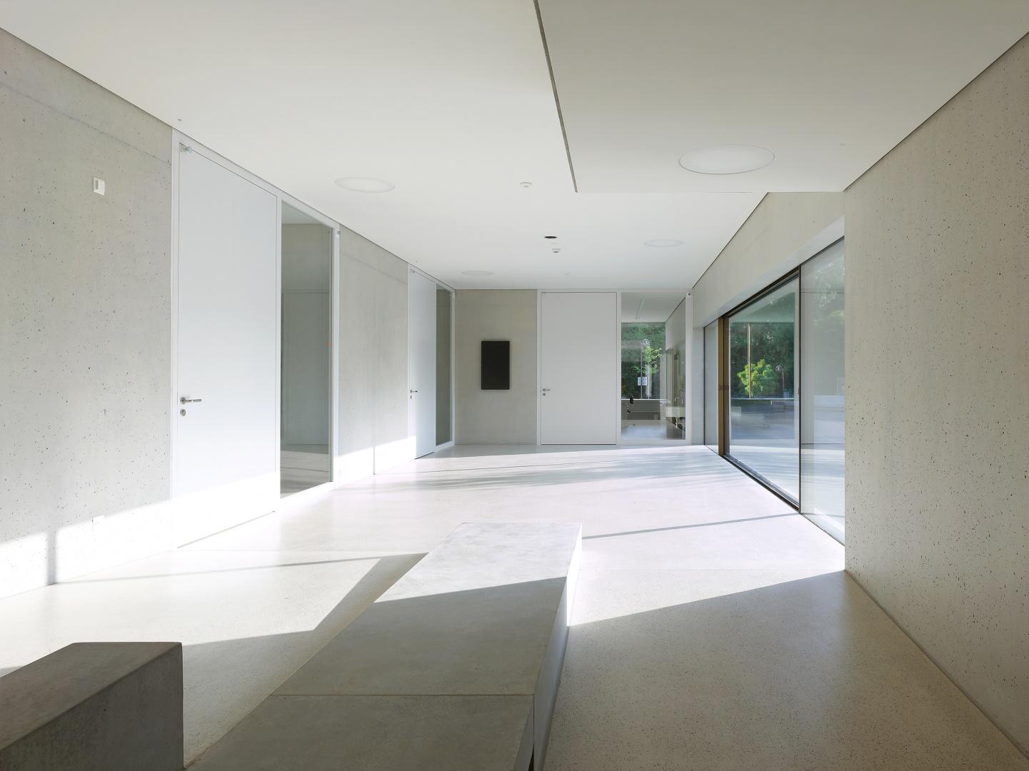 couloir et entrée salles © Thomas Jantscher