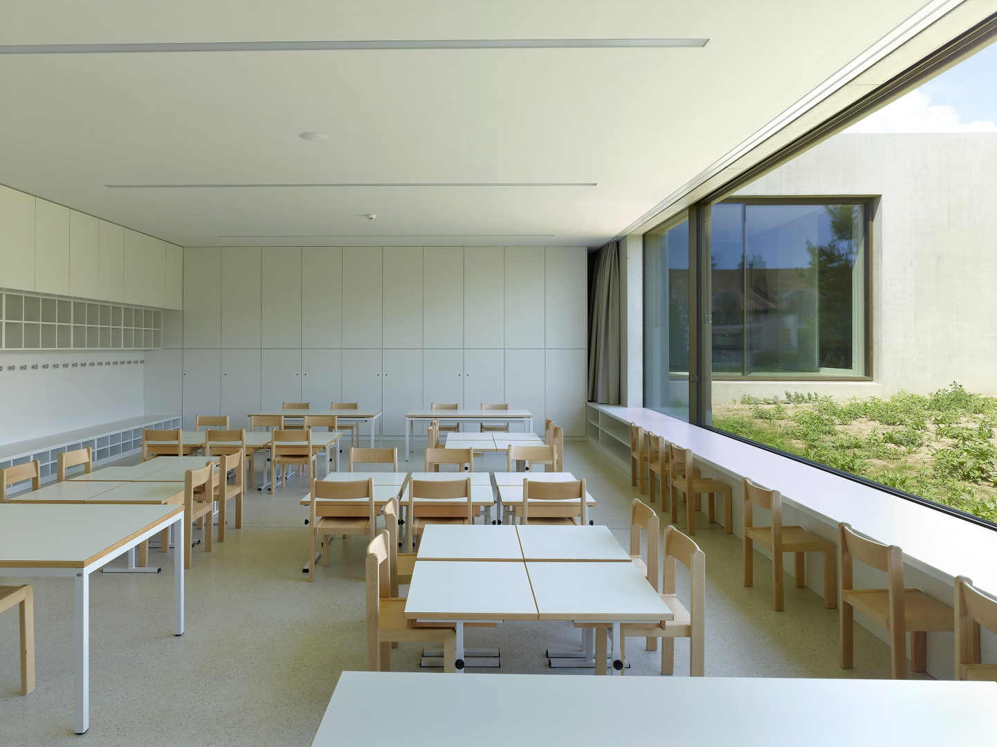salle classe © Thomas Jantscher