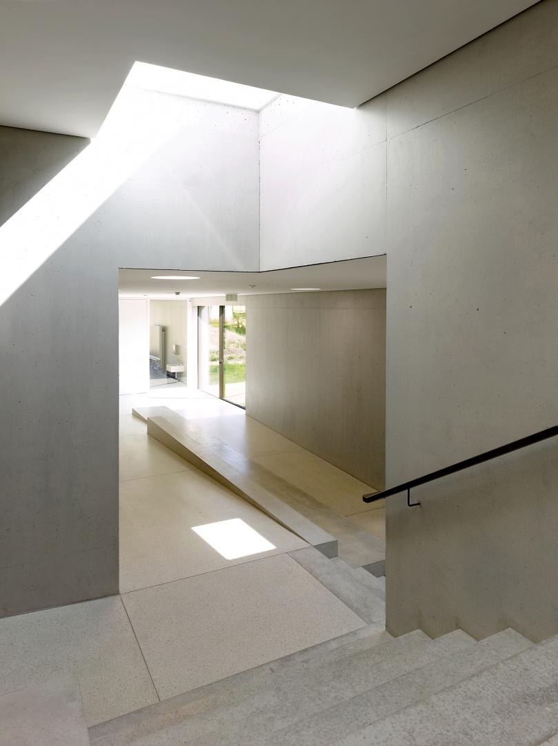 Oberlicht zentrale Treppe  © Thomas Jantscher