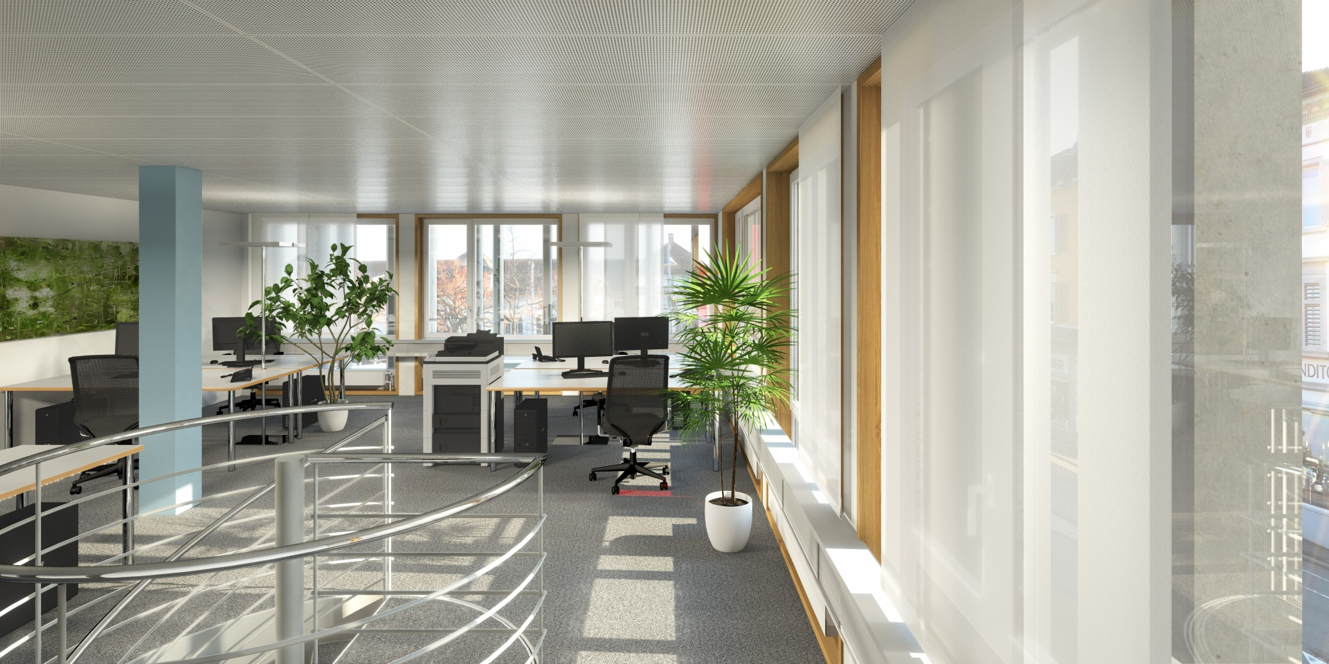 Innenansicht © SRT Architekten AG