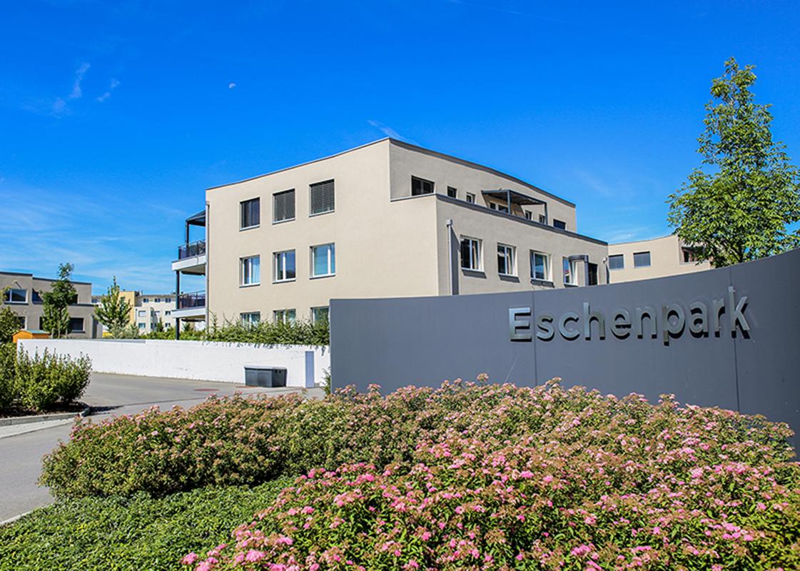 Eingangschild Eschenpark © Eschenpark, STALDER Immobilien & Finanz GmbH, Littauerboden 1, 6014 Luzern