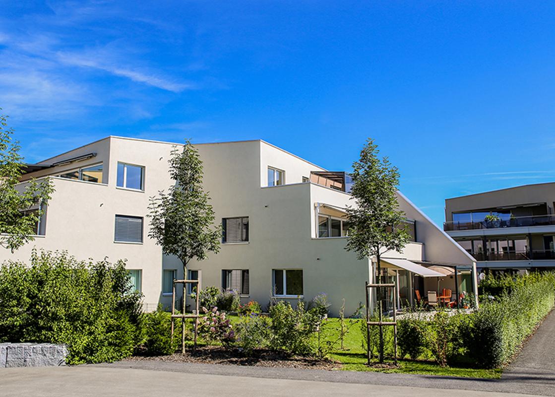 Frontansicht Winkelhaus © Eschenpark, STALDER Immobilien & Finanz GmbH, Littauerboden 1, 6014 Luzern