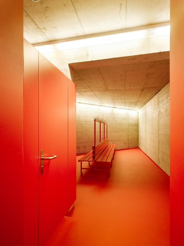 vestiaires © Hannes Henz, Zürich