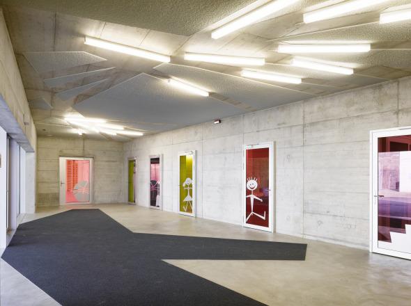 Eingangsbereich © Hannes Henz, Zürich