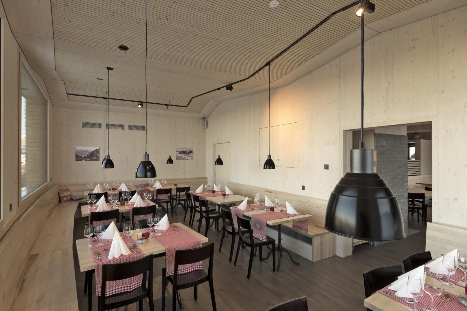 Restaurant © Zürrer Design, Schwyz