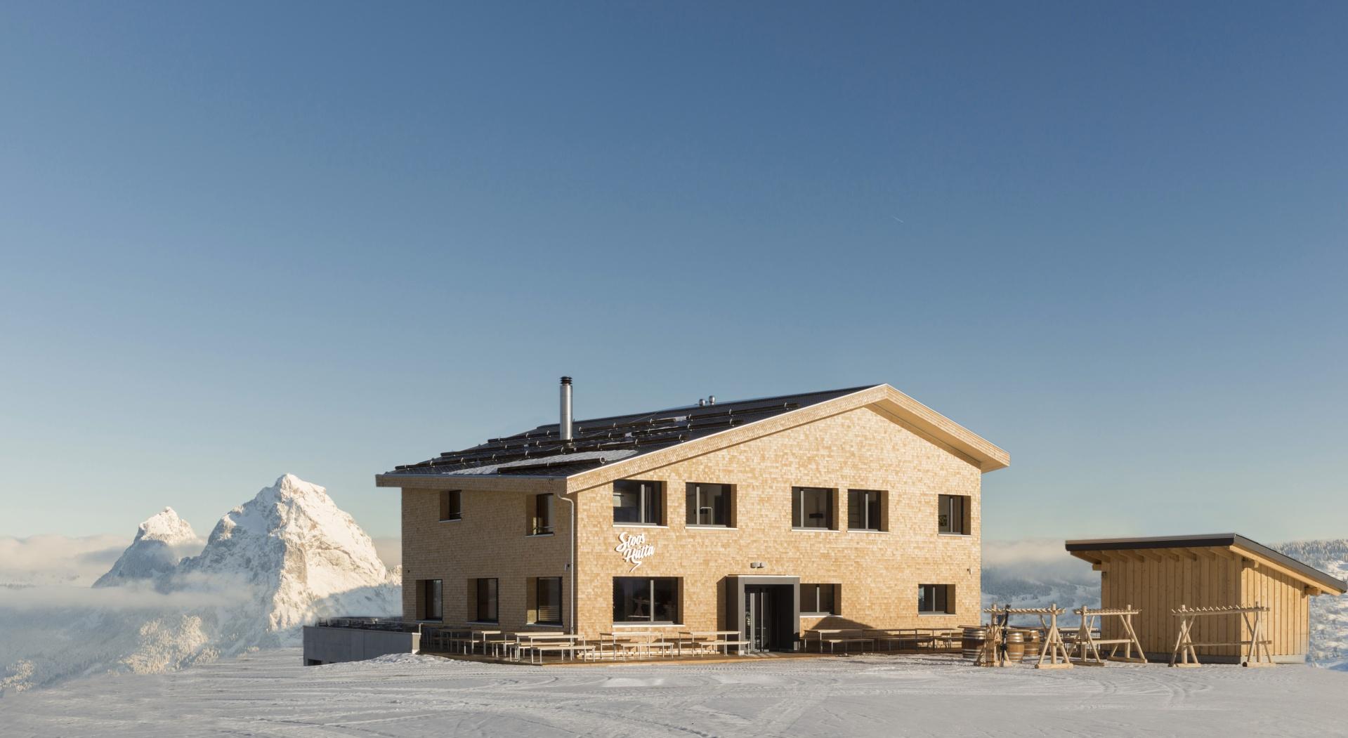 Ansicht von Süden © Zürrer Design, Schwyz