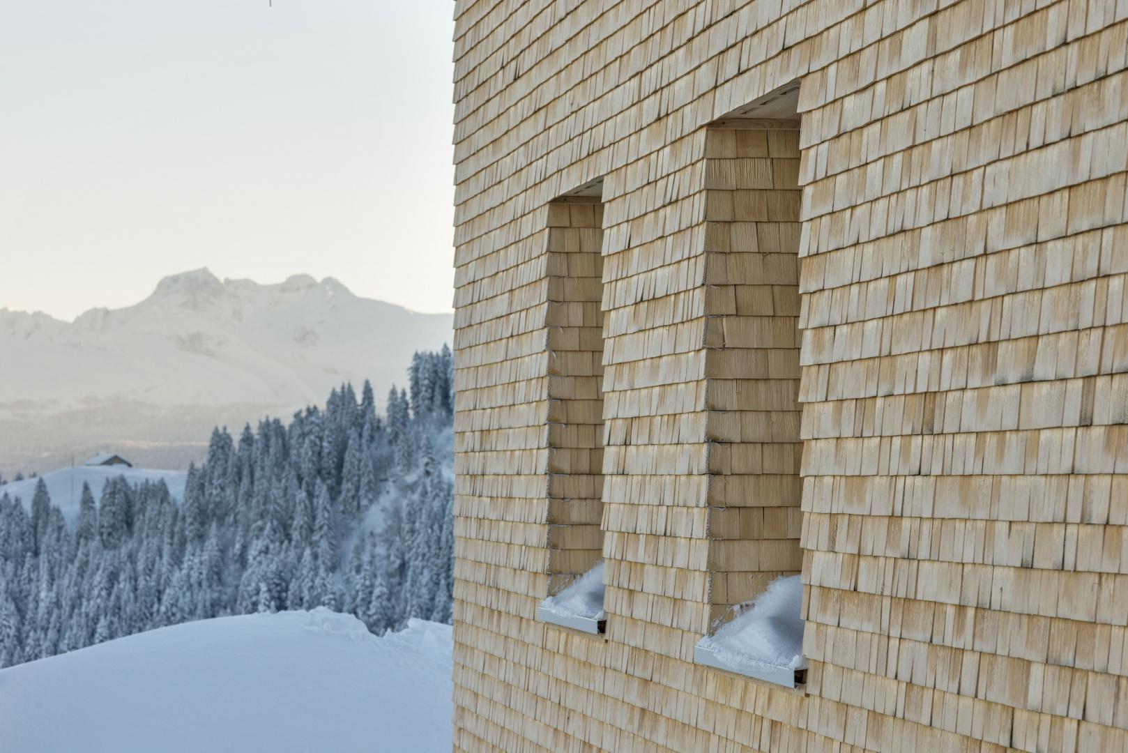 Schindelfassade © Zürrer Design, Schwyz
