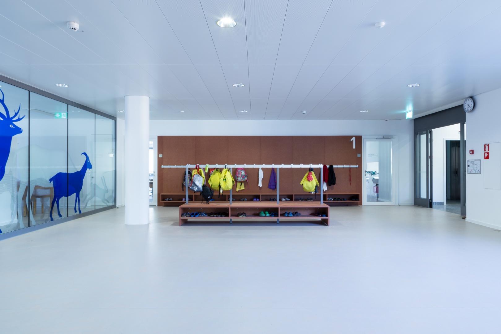 Atrium und Erschliessung © Buletti Fumagalli e Associati sagl