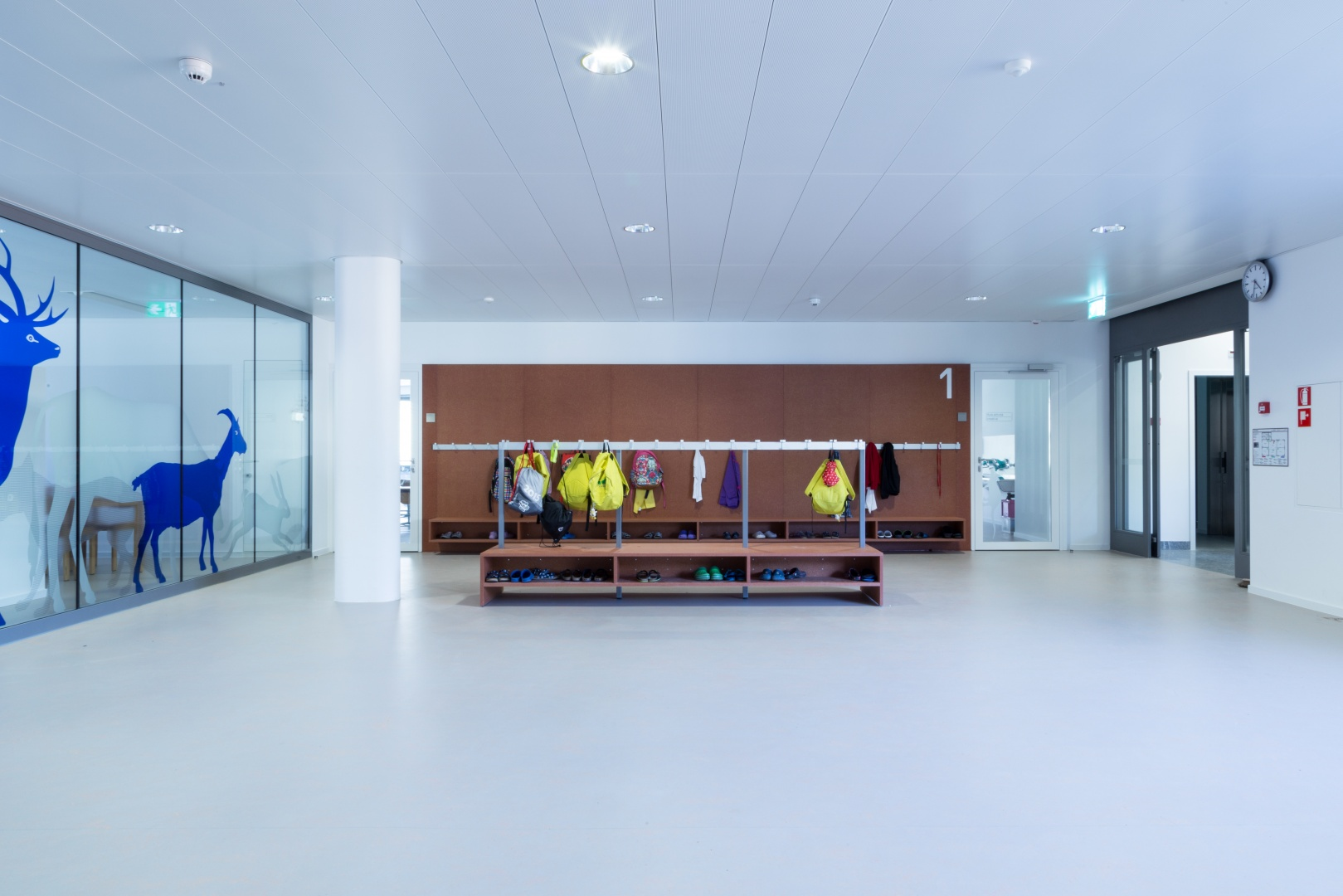 atrio distributivo  piani © Buletti Fumagalli e Associati sagl
