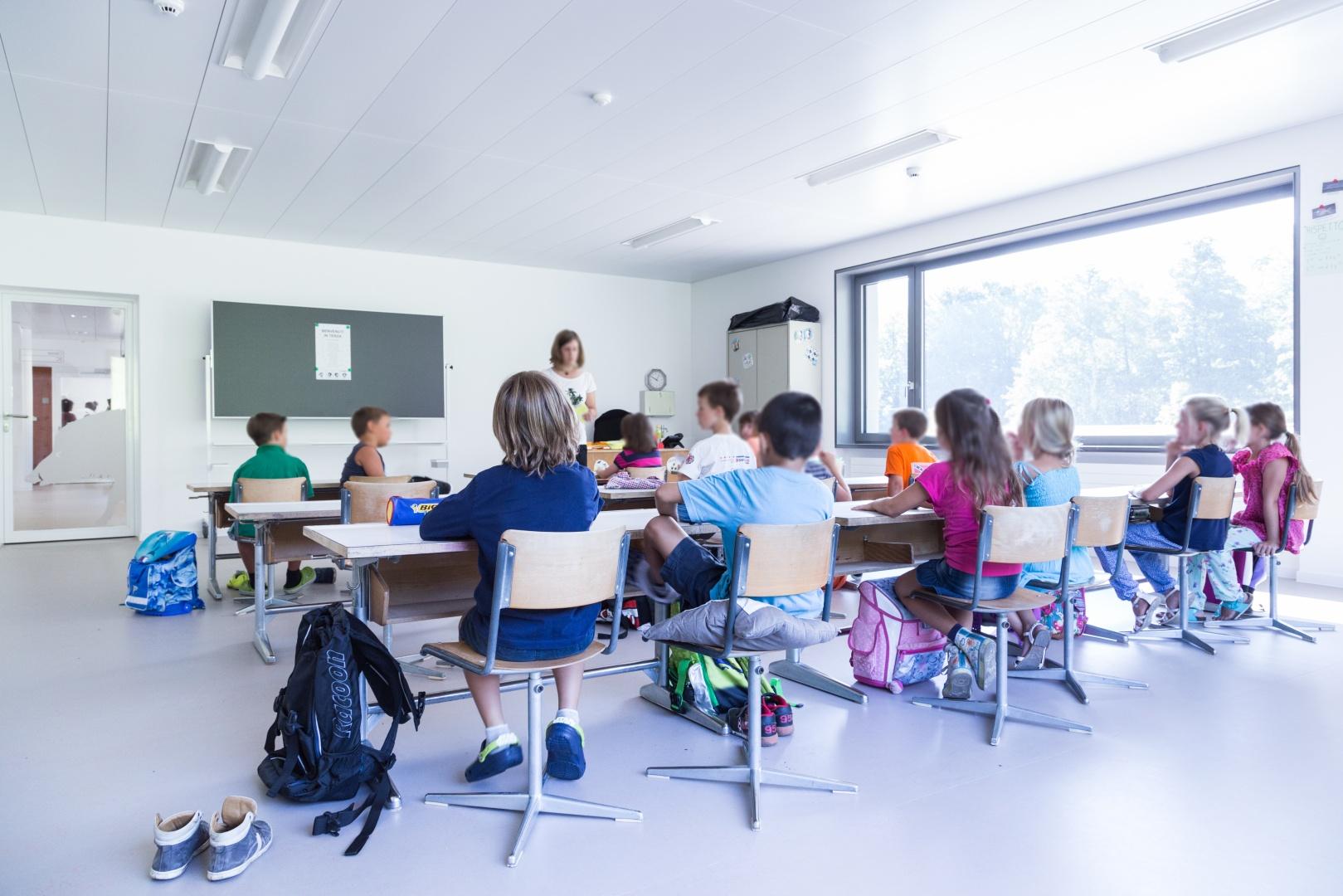 Klassenzimmer © Buletti Fumagalli e Associati sagl