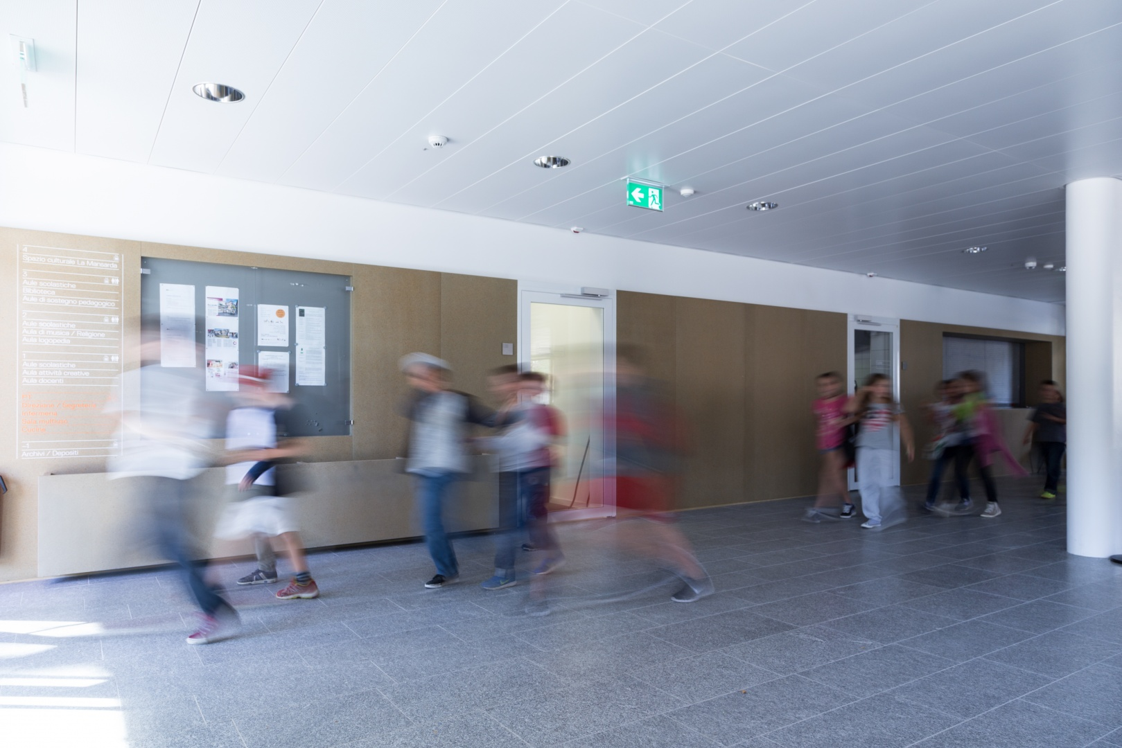 Atrium Eingang © Buletti Fumagalli e Associati sagl