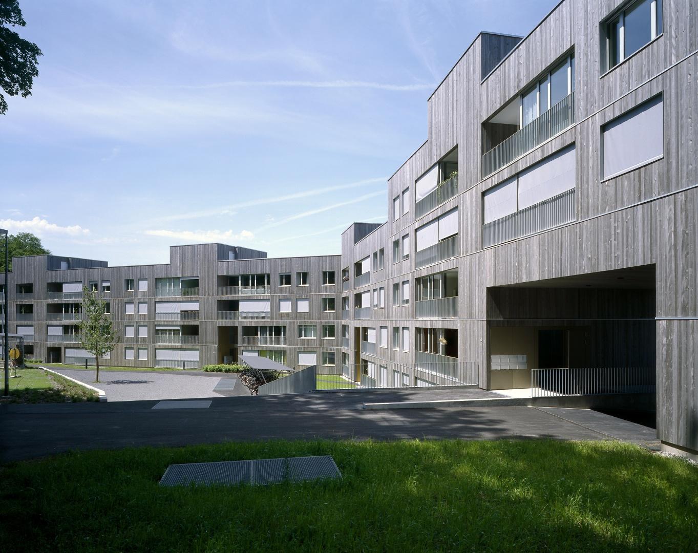Südfassade © Reinhard Zimmermann, Baar