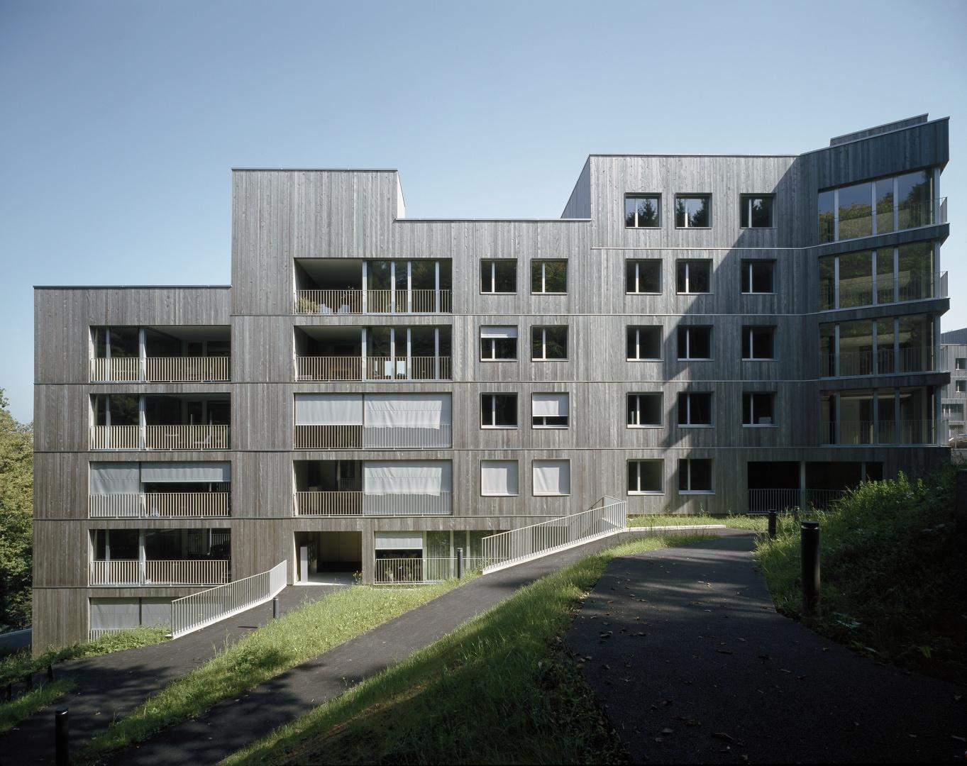 Westfassade © Reinhard Zimmermann, Baar