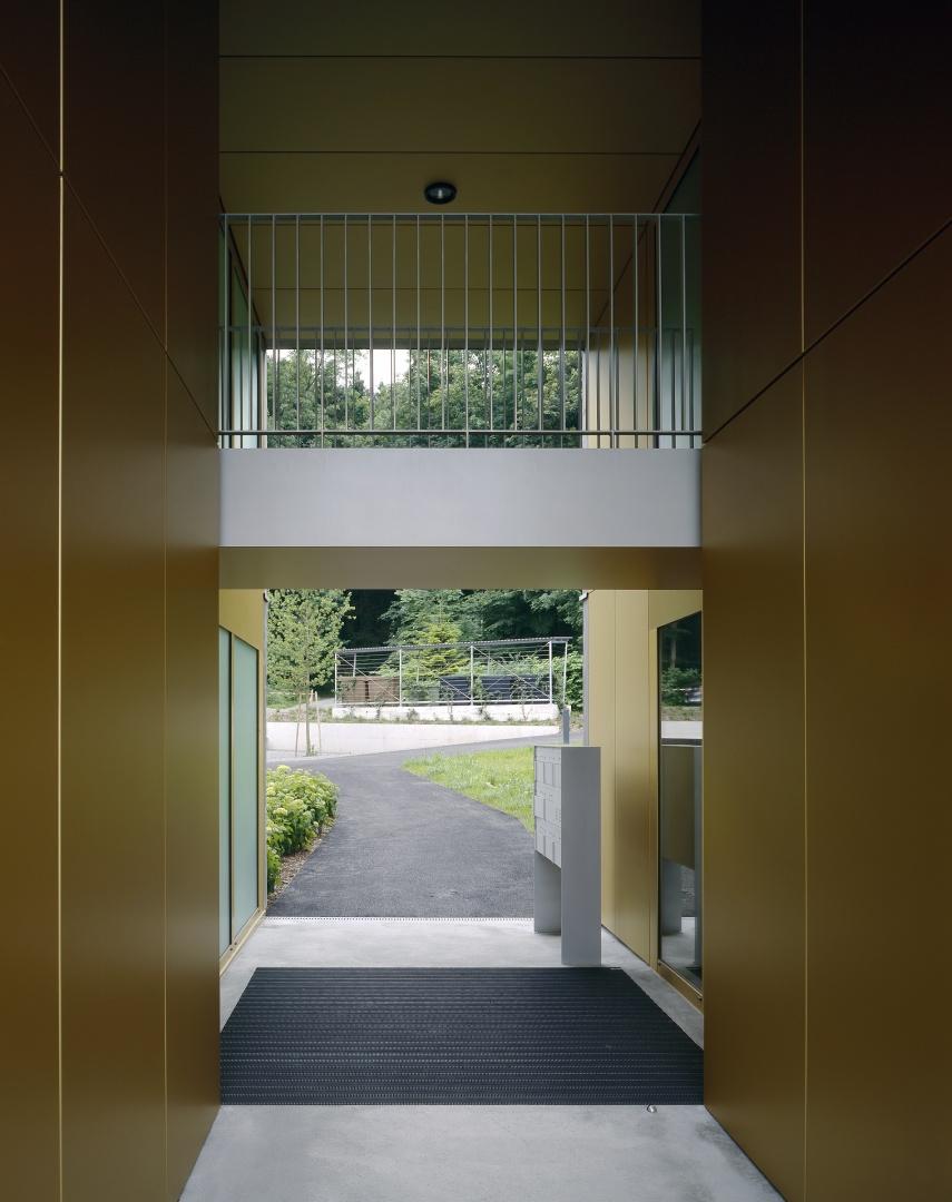 Eingang © Reinhard Zimmermann, Baar