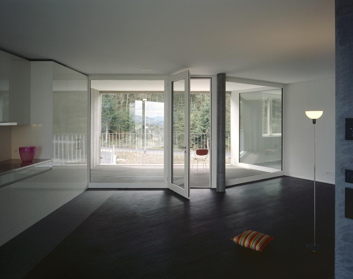 Wohnung mit Essküche © Reinhard Zimmermann, Baar