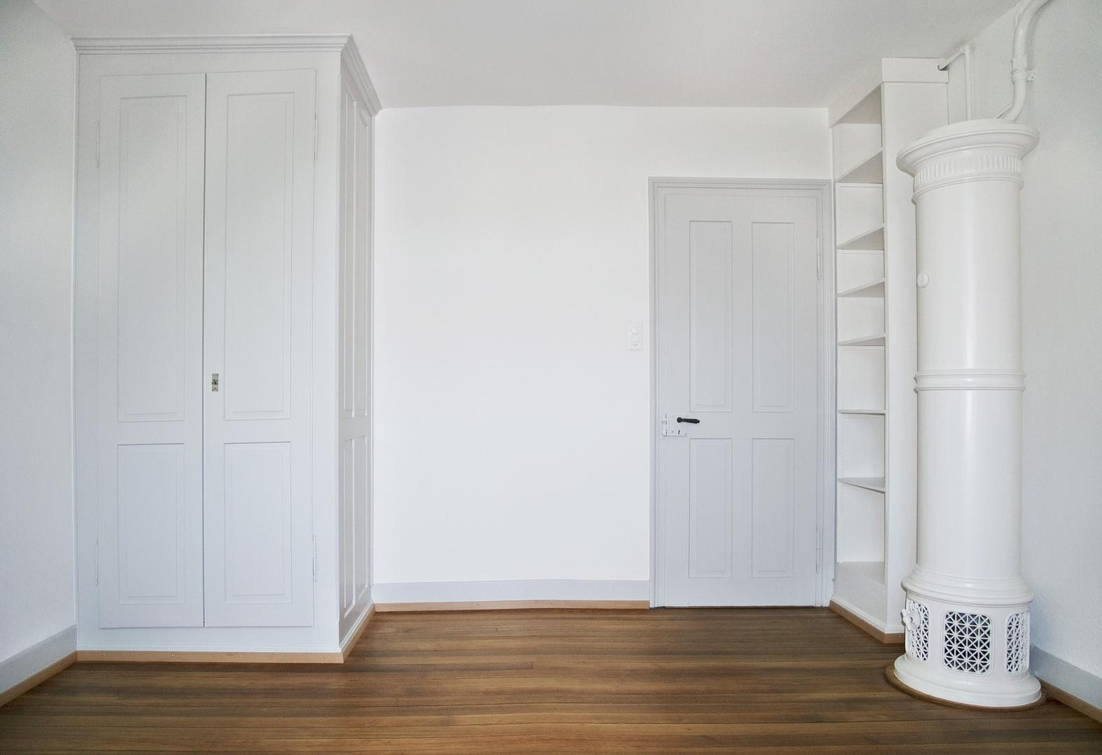 Zimmer 2. OG Mansardengeschoss © eob.ch / Art Design Architektur