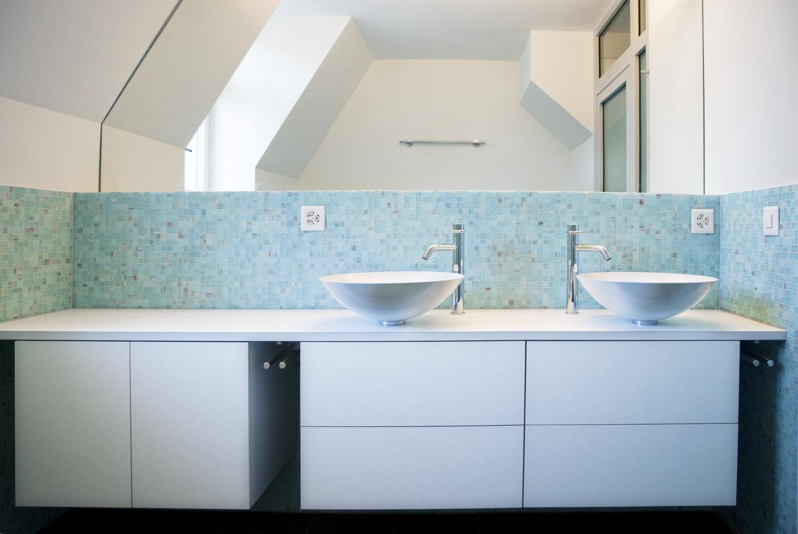 Bad 2. OG / Mansardengeschoss © eob.ch / Art Design Architektur