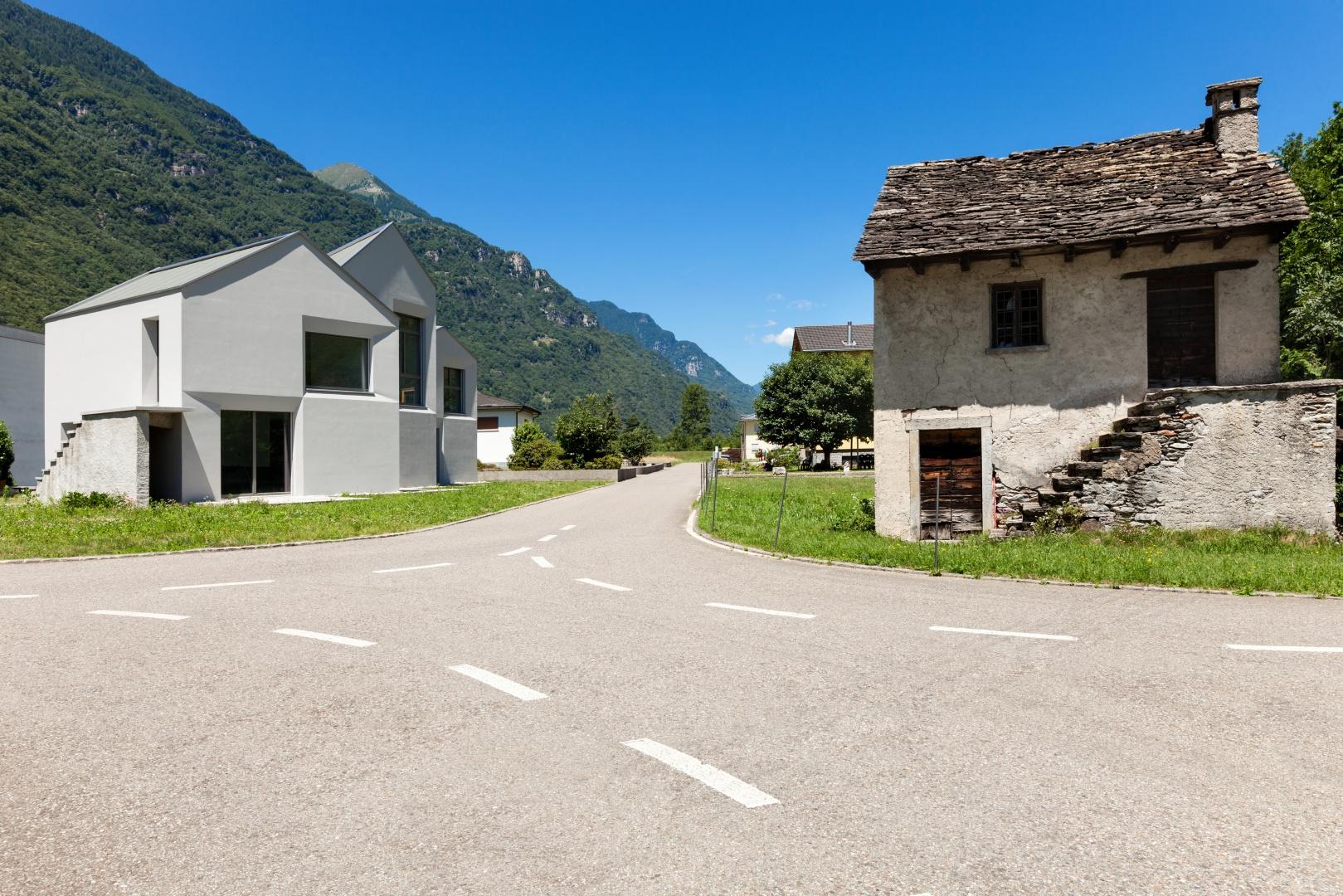 Ansicht Süden und Kontext  © Alexandre Zveiger, Lugano, CH
