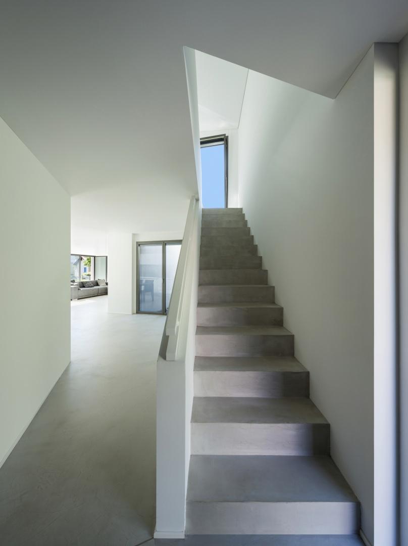 Innenraum Treppe © Alexandre Zveiger, Lugano, CH