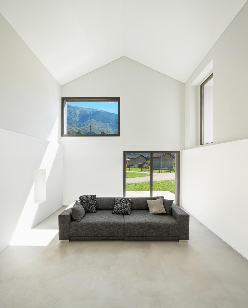 Innenraum Wohnzimmer A © Alexandre Zveiger, Lugano, CH