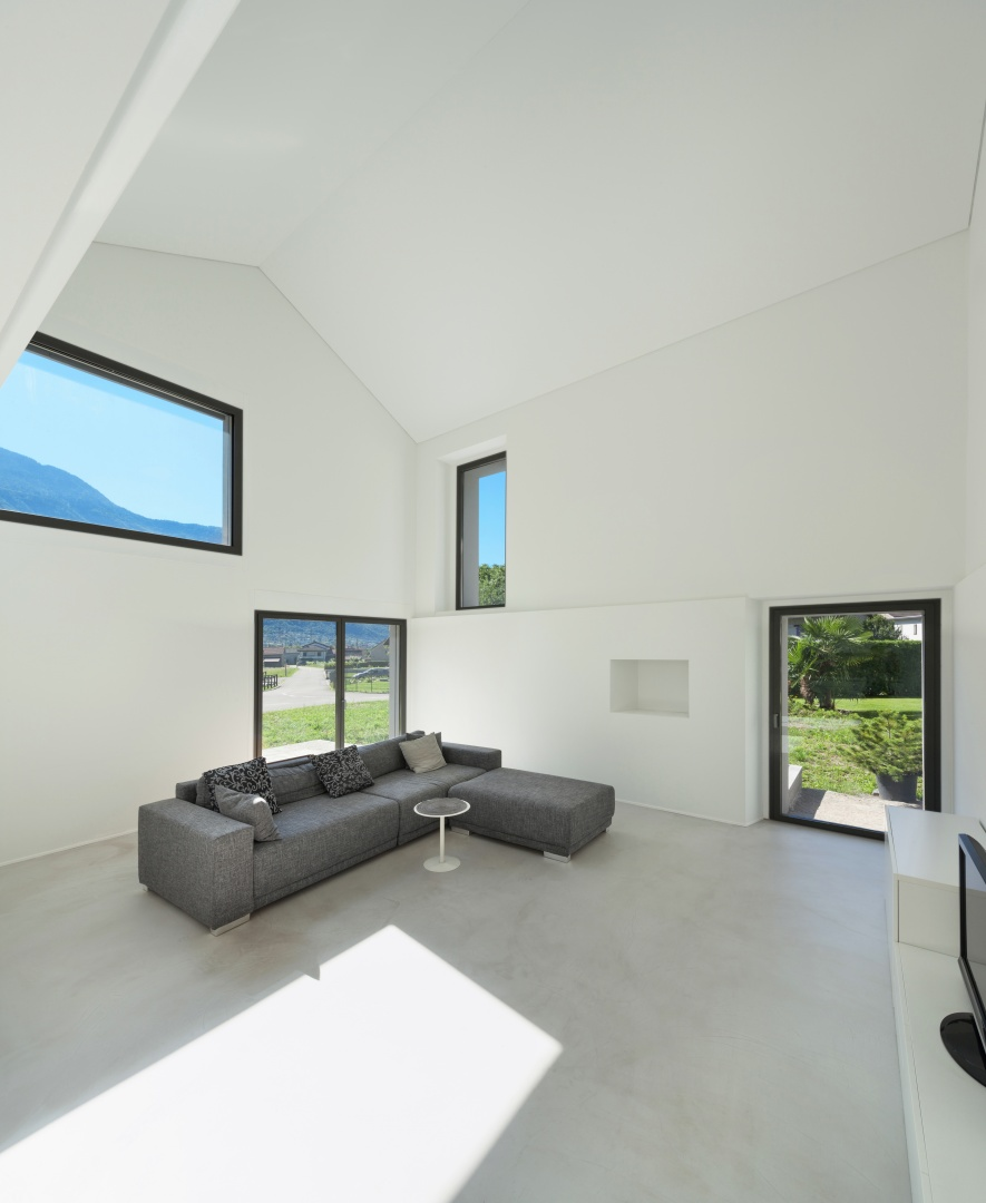 Innenraum Wohnzimmer B  © Alexandre Zveiger, Lugano, CH