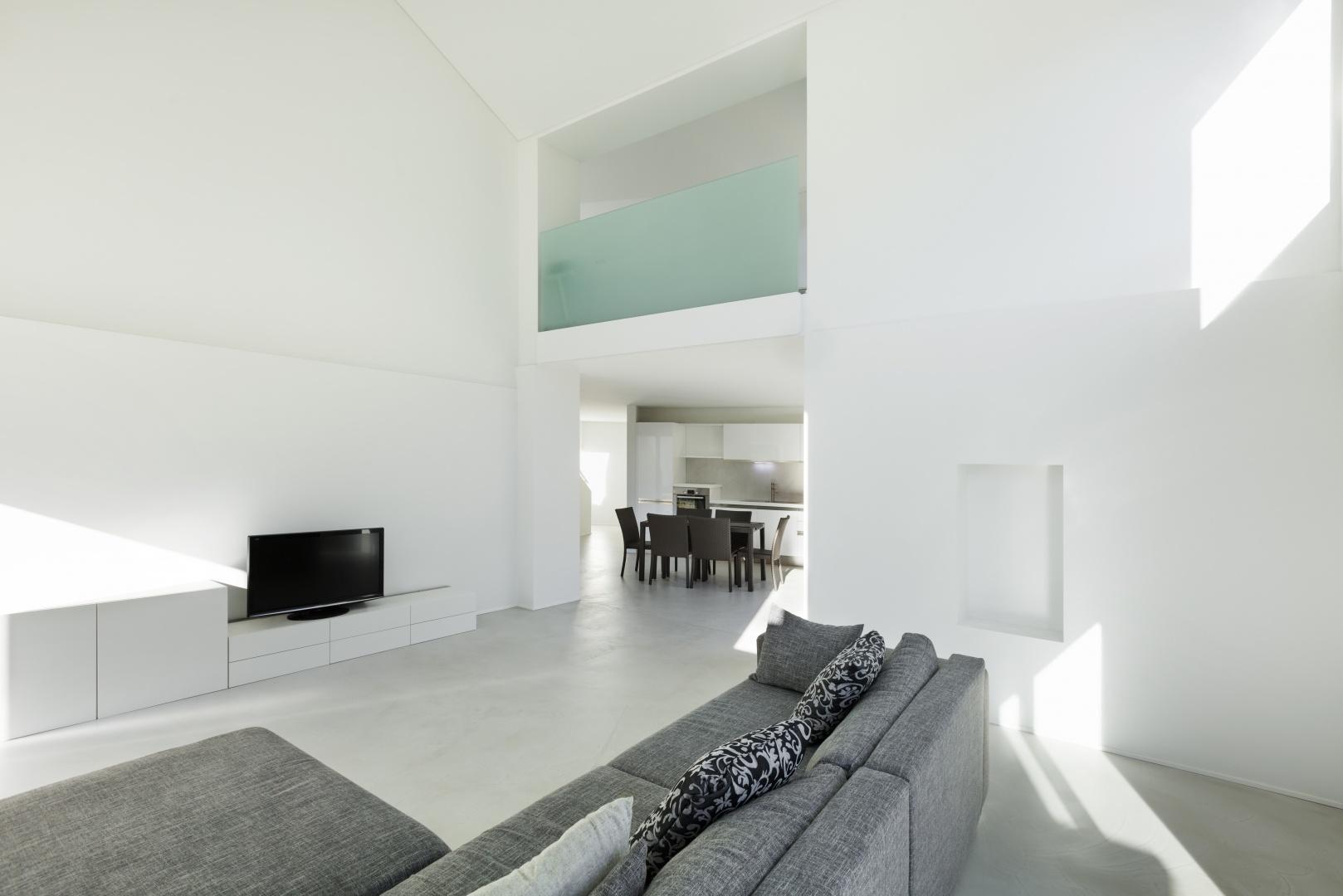 Innenraum Wohn- und Esszimmer © Alexandre Zveiger, Lugano, CH