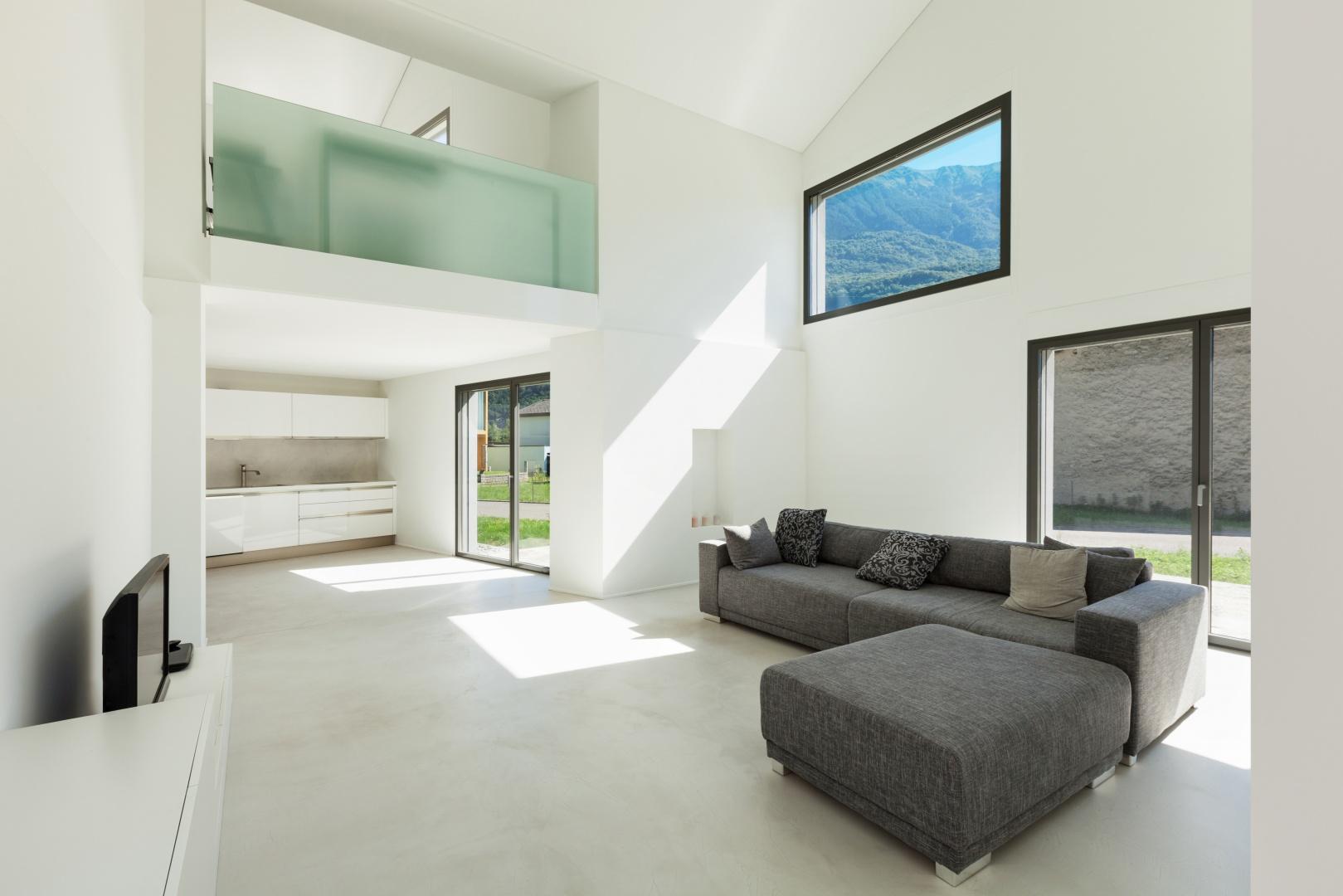 Innenraum Wohnzimmer und Küche  © Alexandre Zveiger, Lugano, CH