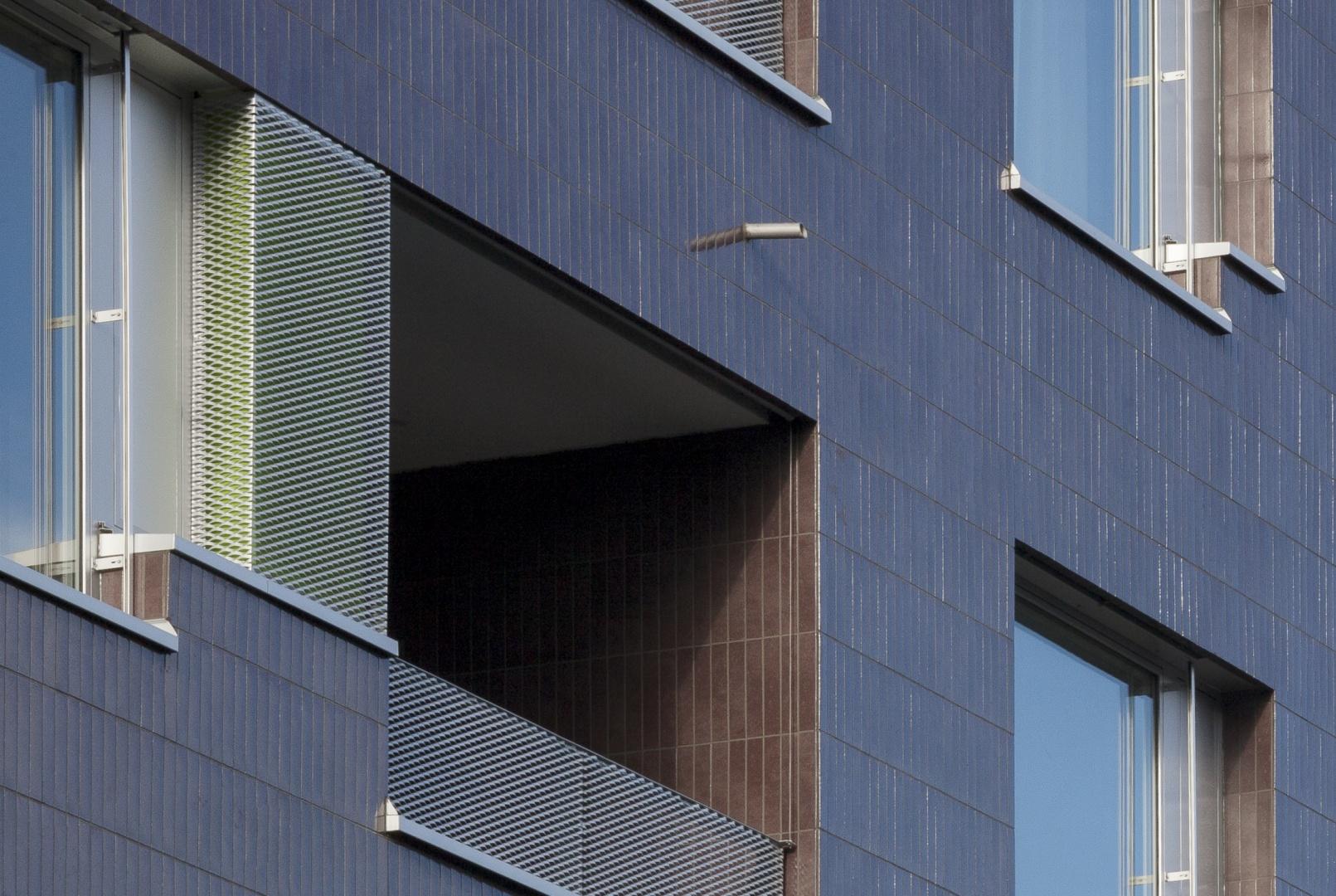 Fassadendetail © Daniel Sutter