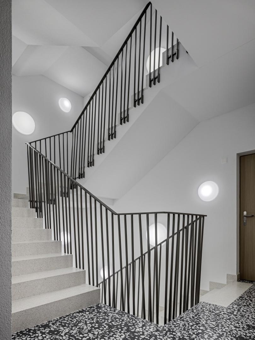 Treppenhaus © Roger Frei