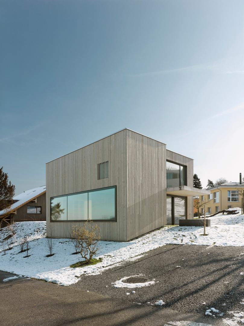 Ansicht_NW © Alexander Gempeler, Architekturfotografie Gempeler, Seidenweg 8a, Postfach 524, 3000 Bern 9