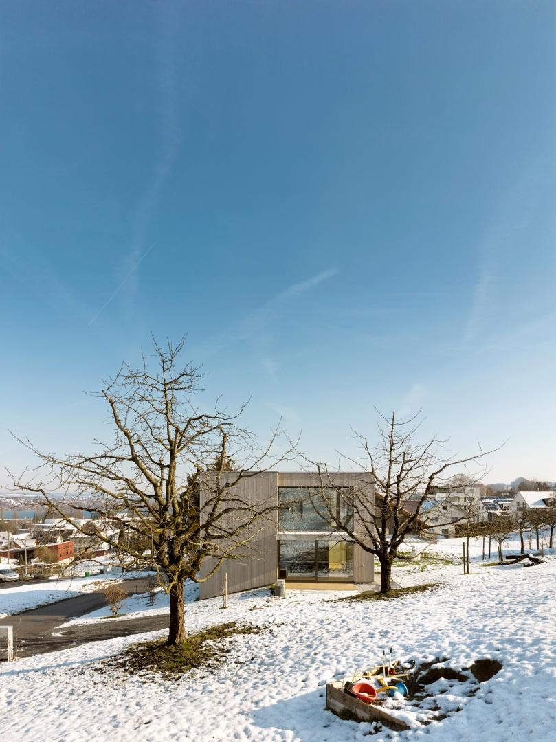 Ansicht_W © Alexander Gempeler, Architekturfotografie Gempeler, Seidenweg 8a, Postfach 524, 3000 Bern 9