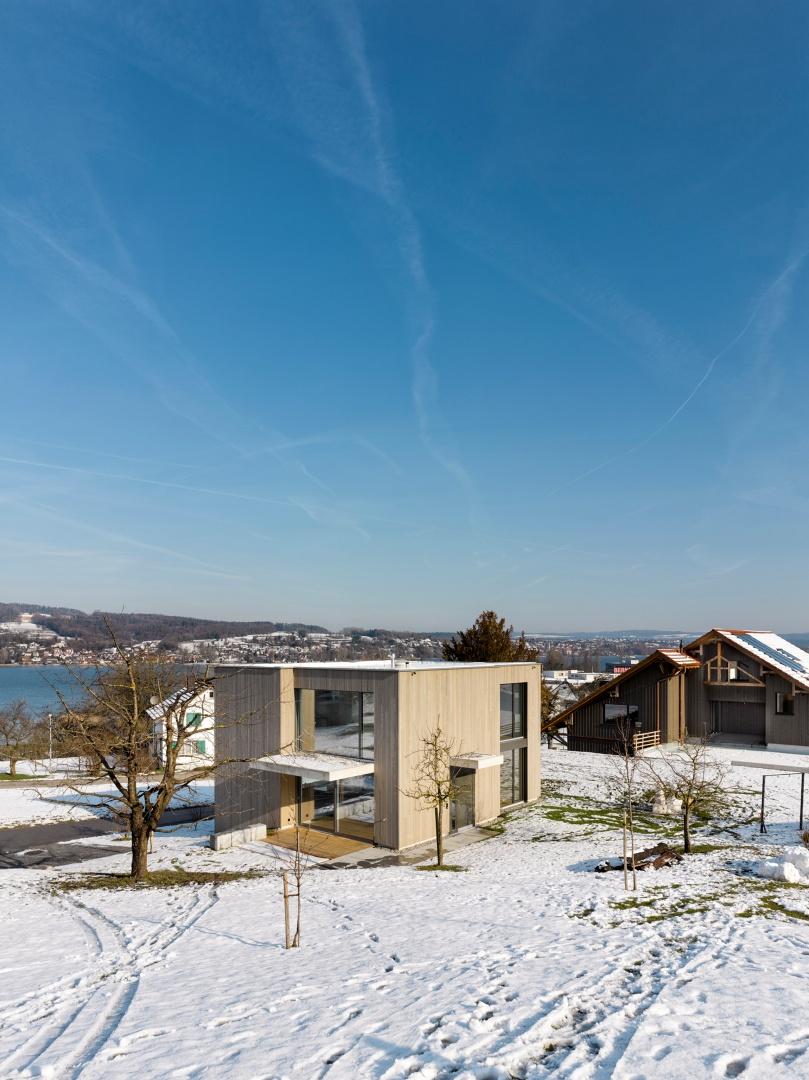 Ansicht_SW © Alexander Gempeler, Architekturfotografie Gempeler, Seidenweg 8a, Postfach 524, 3000 Bern 9
