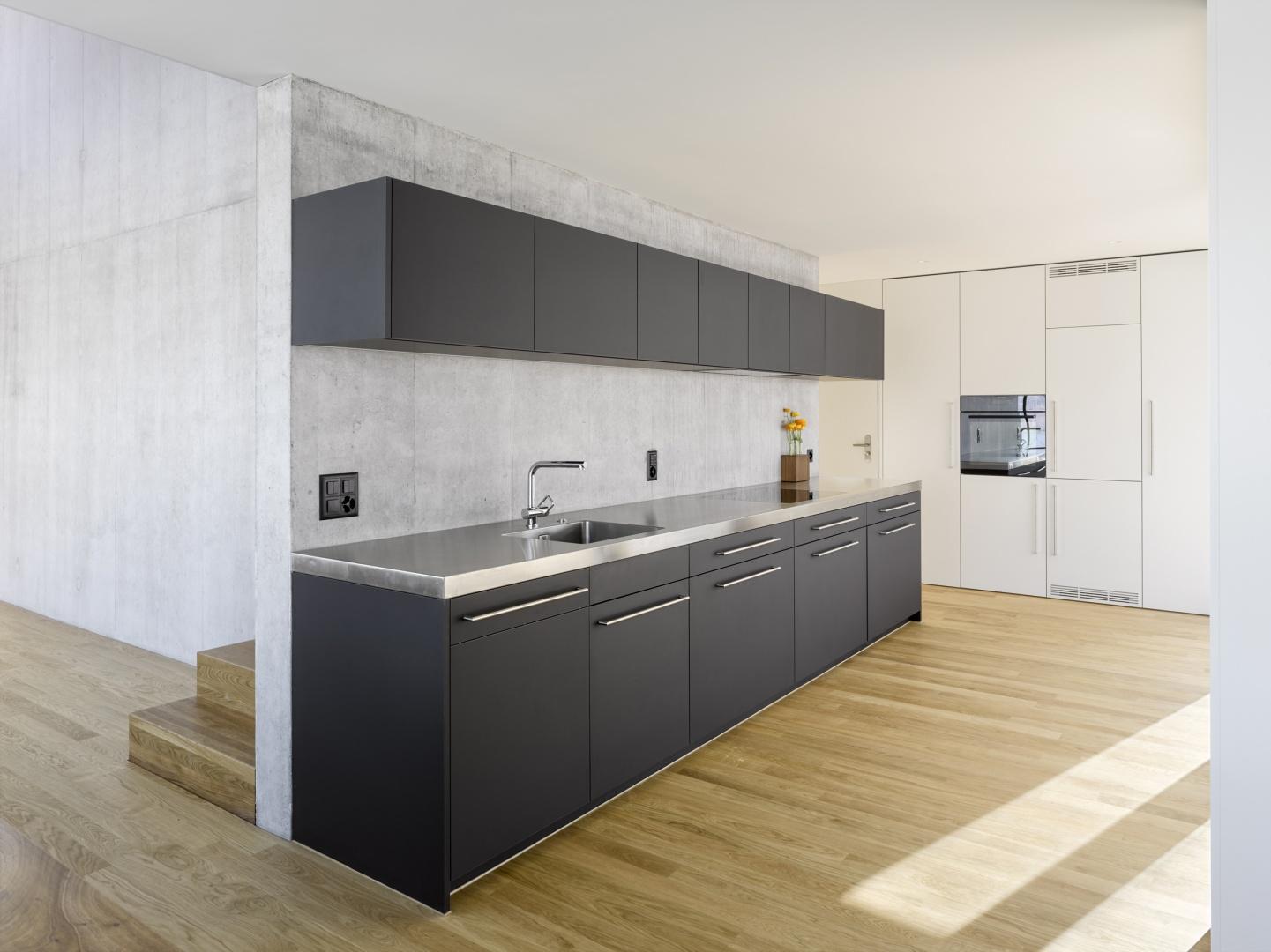 Küche2 © Alexander Gempeler, Architekturfotografie Gempeler, Seidenweg 8a, Postfach 524, 3000 Bern 9
