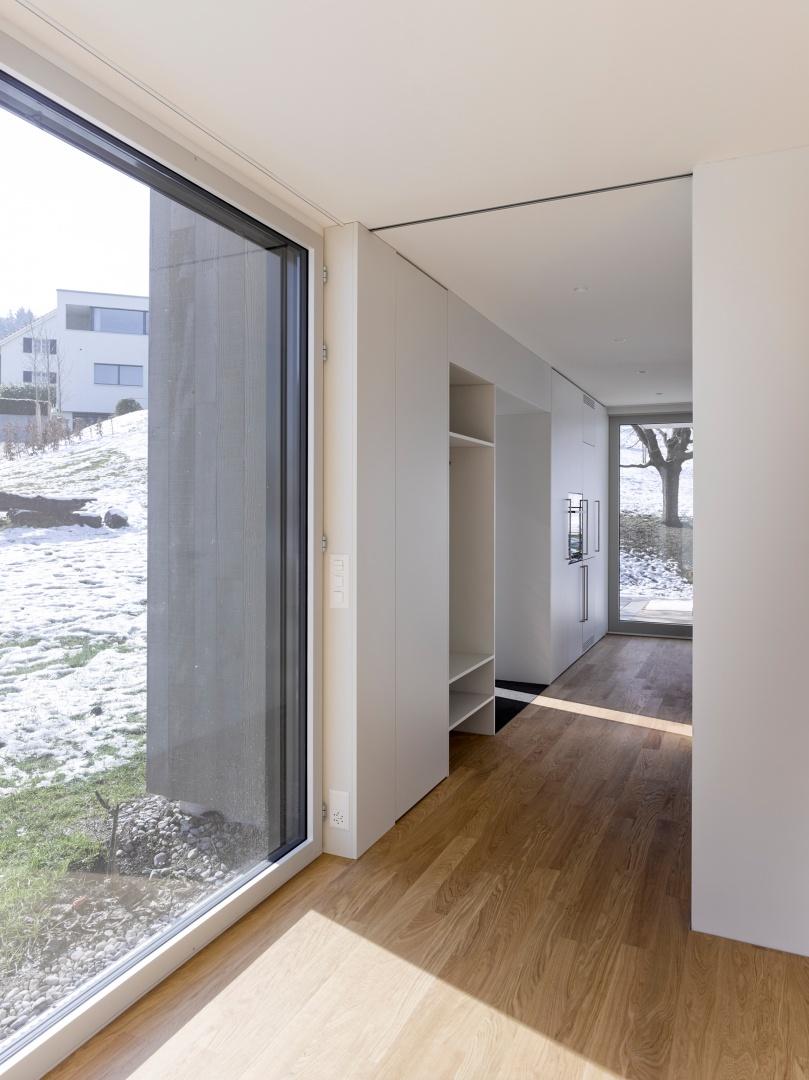 Zimmer_Garderobe © Alexander Gempeler, Architekturfotografie Gempeler, Seidenweg 8a, Postfach 524, 3000 Bern 9