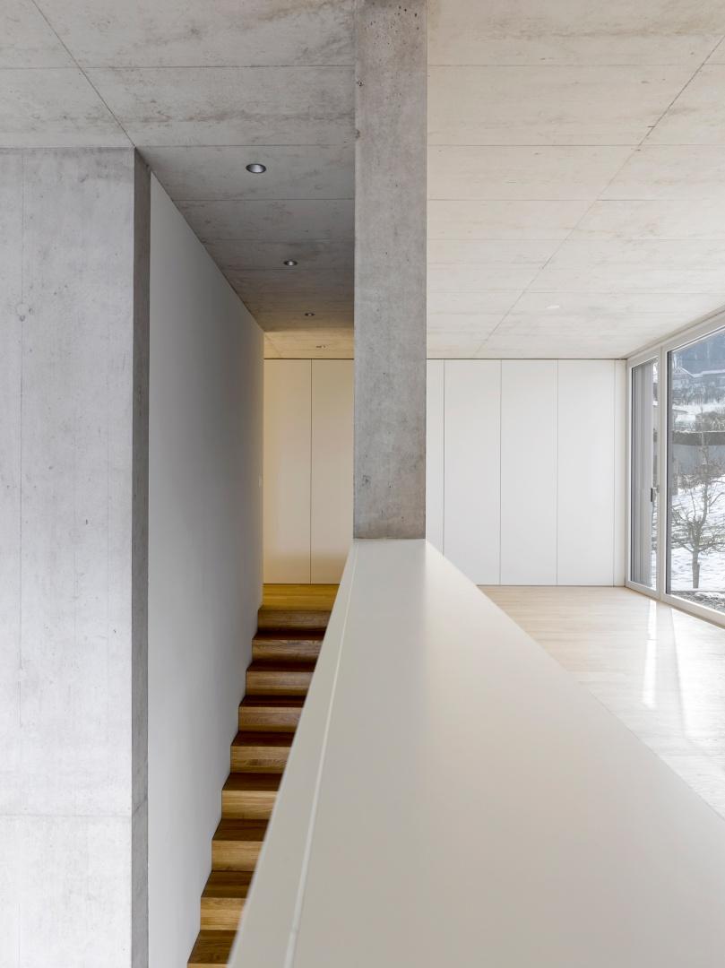 Galerie_Treppe © Alexander Gempeler, Architekturfotografie Gempeler, Seidenweg 8a, Postfach 524, 3000 Bern 9
