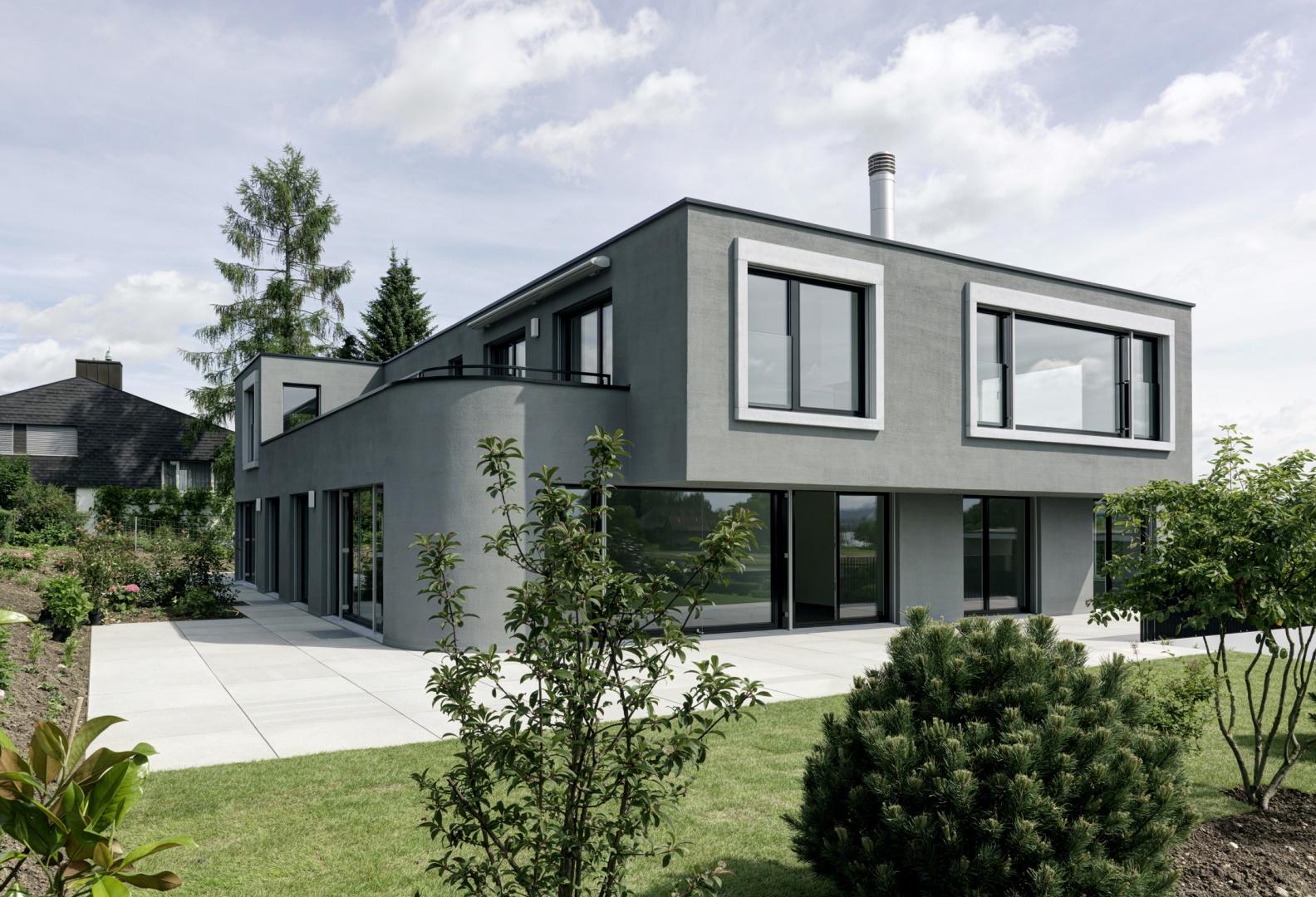 mehrfamilienhaus maur schweizer baudokumentation. Black Bedroom Furniture Sets. Home Design Ideas