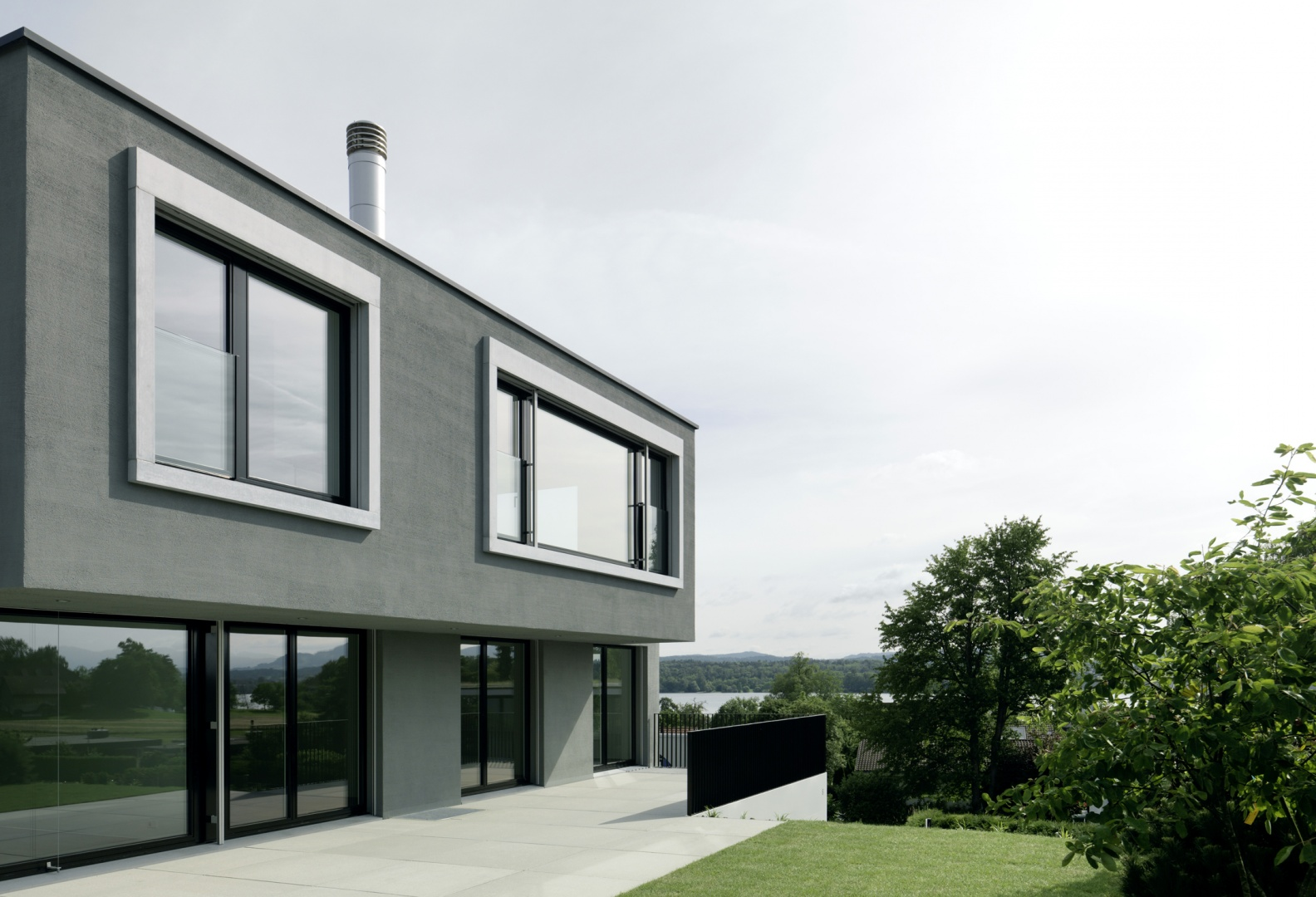 mehrfamilienhaus maur documentation suisse du batiment. Black Bedroom Furniture Sets. Home Design Ideas