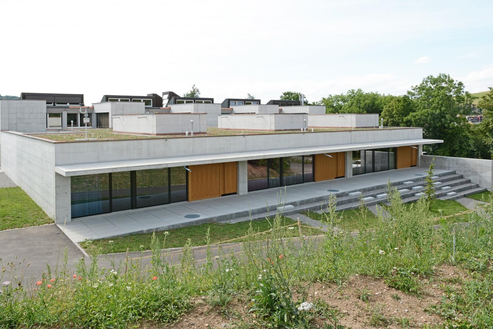 Erweiterungsneubau Ost: 3-fach Kindergarten © Hopf & Wirth Architekten, Rychenbergstrasse 2,  8400 Winterthur